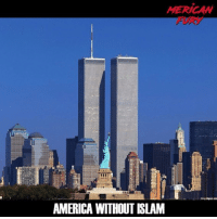 America, Guns, and Memes: MERICAW  1  l.  AMERICA WITHOUT ISLAM For more conservative news check out @mericanfury mericanfury stupidliberals secondamendment trump donaldtrump conservative hillno feelthebern Bernie killary hillary hillaryclinton murica merica america military guns patriot politics gop republican democrat nobama obama MAGA calexit potus politicallyincorrect humor