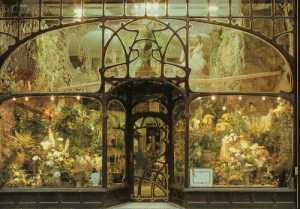 merristueller:Art nouveau flower shop, Brussels: merristueller:Art nouveau flower shop, Brussels