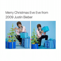 oops im late: Merry Christmas Eve Eve from  2009 Justin Bieber oops im late