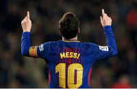 Soccer, Goal, and Messi: MESS Leo Messi has just scored his 600TH career goal.   Living Legend https://t.co/rPbbKsg3S9