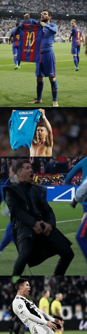 Cristiano Ronaldo, Soccer, and Ronaldo: MESS  unicef  BA   RONALD0  7 Cristiano Ronaldo always pays his debts. https://t.co/X9P19V1Pq0