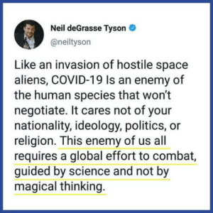 Message from Niel deGrasse Tyson: Message from Niel deGrasse Tyson