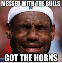 Follow us for more funny Sports Memes: MESSEDWITHTHE BULLS  GOT THE HORNS Follow us for more funny Sports Memes