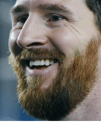 Messi  Hair color - Brown Dyed - Blonde Beard - Red: Messi  Hair color - Brown Dyed - Blonde Beard - Red