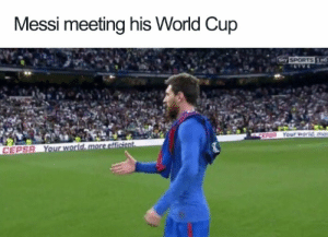 cb48bfb8d Bored, Fifa, and Football: Messi meeting his World Cup CEPSR Funny-Football
