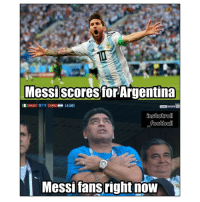 🙏🏼😂🏆 Messi Troll Fans: Messiscores for Argentina  DIRE  D NGA I 0 1ARG 14:14  Messi fans right now 🙏🏼😂🏆 Messi Troll Fans