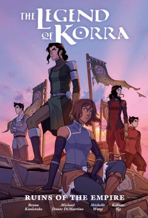 metalwarrior22: Penguin Random House just released the cover for The Legend of Korra: Ruins of the Empire  Library Edition, drawn by Michelle Wong and Killian Ng.  The book is scheduled  to go on sale September 22, 2020. : metalwarrior22: Penguin Random House just released the cover for The Legend of Korra: Ruins of the Empire  Library Edition, drawn by Michelle Wong and Killian Ng.  The book is scheduled  to go on sale September 22, 2020.