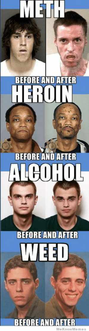 ..: METH  BEFORE AND AFTER  HEROIN  BEFORE AND AFTER  ALCOHOL  BEFORE AND AFTER  WEED  BEFORE AND AFTER  WeKnowMemes  0 ..