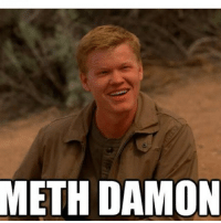 Breaking Bad is so last week but seriously how much does Landry look like Matt Damon mixed with a half-retarded meth addict? (Bromygod.com): METH DAMON Breaking Bad is so last week but seriously how much does Landry look like Matt Damon mixed with a half-retarded meth addict? (Bromygod.com)