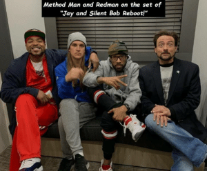 """Method Man: Method Man and Redman on the set of  """"Jay and Silent Bob Reboot!"""""""