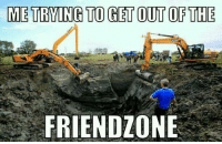 Friendzone: METRING TO GET OUT OF THE  FRIENDZONE