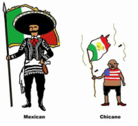 Mexican, Mexicoball, and Chicano: Mexican  Chicano