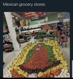 you're not allowed to take the tomatoes: Mexican grocery stores:  Precios que  son una delicia  Huevo  sonaud ém  más salsas  Frut  NACIEA  11  Pred you're not allowed to take the tomatoes