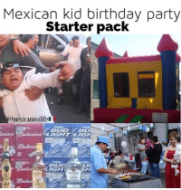 Birthday, Memes, and Party: Mexican kid birthday party  Starter pack  @mexicanosslifel  IGHT LIG  BU  IGH The Mexican kid birthday party starter pack 🎉😂🎈