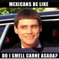 Mexicans Be Like: MEXICANS BE LIKE  DO I SMELL CARNE ASADA?