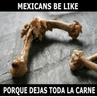 Be Like, Memes, and Mexican: MEXICANS BE LIKE  PORQUE DEJAS TODA LA CARNE My mom 🙄😬 FOLLOW US➡️ @so.mexican