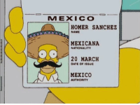 "<p>Me when they start drafting for ww3 via /r/memes <a href=""http://ift.tt/2pl0QZB"">http://ift.tt/2pl0QZB</a></p>: MEXICO  HOMER SANCHEZ  NAME  MEXICANA  NATIONALITY  20 MARCH  DATE OF ISSUE  MEXICO  AUTHORITY <p>Me when they start drafting for ww3 via /r/memes <a href=""http://ift.tt/2pl0QZB"">http://ift.tt/2pl0QZB</a></p>"