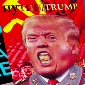 Children, Brave, and Capital: MHTRUMP  AR  IRAO  SY Trump, Putin, and the rest of the rising wave of pro-capitalism fascists are GOMMMUNUZTZZSSS, sweaty!1! I lack the braincells to know what words mean because I donated them to our brave troops so they could more effectively murder foreign children for capital.
