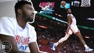 "Memes, Miami Heat, and Nba: Miami Heat standout Derrick Jones Jr. is the NBA's modern-day human highlight reel. Check out @CloseUp360's exclusive debut (and full video) of his ""Airplane Mode"" brand and t-shirt, and go inside his vast virtual worlds in NBA 2K and Grand Theft Auto. https://t.co/wxjq79RFqL"