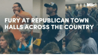 Memes, Navigation, and 🤖: Mic  FURY AT REPUBLICAN TOWN  HALLS ACROSS THE COUNTRY Republican town halls across the country are witnessing the fury of the opposition. Could that actually bring change?   Keep up with the latest with Navigating Trump's America: http://bit.ly/2kl0ra0