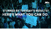 Memes, Depression, and Victorious: Mic  GAY FOR  TRUMP  NSUMPONER  NOT  STUNNED BY TUESDAY'S RESULTS?  HERES WHAT YOU CAN DO.  WOMAN If you're feeling hopeless or depressed after Trump's victory, don't just despair — take action.   Here are a few places to start.