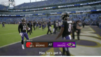 "Memes, Browns, and Ravens: MICD UP  #NELMiCdUp  WEEK 17  9-6  AT RAVENS  Hey, let's get it. ""We're the AFC North Champs! It does not stop here!""  @lj_era8 and @BakerMayfield were mic'd up for the epic @Ravens vs. @Browns matchup in Week 17! #NFLMicdUp (via @NFLFilms) https://t.co/PMOUJtSesG"