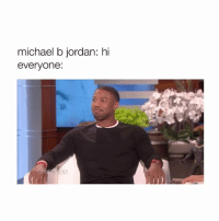 Michael B. Jordan, Black, and Black Panther: michael b jordan: hi  everyone: I WATCHED BLACK PANTHER YESTERDAY AND I ACTUALLY LIKED IT MORE THAN I THOUGHT I WOULD