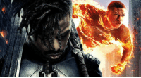 """Michael B. Jordan sees BLACK PANTHER as a chance to make amends after """"Fantastic Four."""" http://bit.ly/2Gme2GN  (Andrew Gifford): Michael B. Jordan sees BLACK PANTHER as a chance to make amends after """"Fantastic Four."""" http://bit.ly/2Gme2GN  (Andrew Gifford)"""