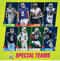 Memes, Michael, and Pro: MICHAEL DICKSONALDRICK ROSAS  TARIK COHEN  PLACEKICKER-- RETURN SPECIALIST  CORY LITTLETON  SPECIAL TEAMER  PUNTER  。 n  ITRNS  BRETT KERN  PUNTER  JASON MYERS  PLACEKICKER  ANDRE ROBERTS  RETURN SPECIALIST  ADRIAN PHILLIPS  SPECIAL TEAMER  TS  TS  SPECIAL TEAMS  PRO BOWL  ORL  ANDO 2019 2019 #ProBowl Special Teamers! https://t.co/ra0eri3G2r