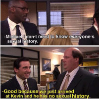 BOOM ROASTED: Michael Idon't need to know evervone'S  Sexual historv  Good because we just arrived  at Kevin and he has no sexual histor BOOM ROASTED