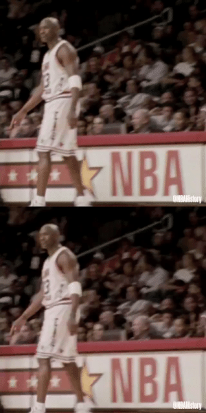 Michael Jordan and Kobe Bryant at the 2003 All-Star Game 😂  https://t.co/A6K8ko1O3N: Michael Jordan and Kobe Bryant at the 2003 All-Star Game 😂  https://t.co/A6K8ko1O3N