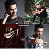 Birthday, Life, and Love: MICHAEL MALARKEY [Michael's birthday appreciation post] Happy 34th birthday to my fav @mkmalarkey ❤️ I wish you all the best in the world and hope you're having a special day surrounded by your loved ones! You're such an amazing, warm-hearted person and your songs really touch me, I'm so grateful that I could hear you singing live! Thank you so much for everything you've given to me, for your humor and for all the laughter, for inspiring me with your songs, for bringing one of my favorite characters Enzo to life and for being so sweet to the fans and to me when I met you! Just stay the way you are, I love you!!!! ⠀ If you swipe to the second post, you can see a collection of personal things from 2015 & 2016 when I could meet him at a convention and his concerts :) ⠀ Please tag @mkmalarkey!!! ⠀ My edit give credit [ michaelmalarkey enzo enzostjohn tvd thevampirediaries vampirediaries tvdforever|173.7k]