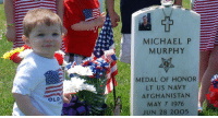Memes, Lost, and Afghanistan: MICHAEL P  MURPHY  MEDAL OF HONOR  LT US NAVY  AFGHANISTAN  MAY 7 1976  JUN 28 2005  OLD To futures lost, and futures won. https://t.co/PZuq1GZCpX