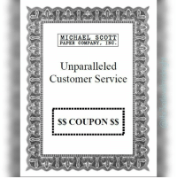 It doesn't say one per customer 😂 customerservice customer service theoffice dundermifflin scranton pennsylvania michaelscott stevecarell michaelscottpapercompany papercompany coupon savings lol: MICHAEL SCOTT  PAPER COMPANY, INC.  Unparalleled  Customer Service  COUPON It doesn't say one per customer 😂 customerservice customer service theoffice dundermifflin scranton pennsylvania michaelscott stevecarell michaelscottpapercompany papercompany coupon savings lol