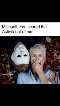 @jamieleecurtis https://t.co/hp9Y2BSUEd: Michael! You scared the  Activia out of me!  Funnysexyerazy @jamieleecurtis https://t.co/hp9Y2BSUEd