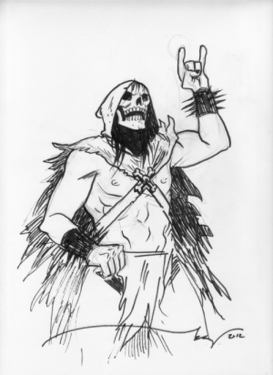 michaelallanleonard:  Skeletor by Becky Cloonan: michaelallanleonard:  Skeletor by Becky Cloonan