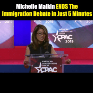 America, Memes, and American: Michelle Malkin ENDS The  Immigration Debate in Just 5 Minutes  2019  AMERICAN  CONSERVATIVE  UNION  2019  AMERICAN  CONSERVATIVE  UNION Everyone in America needs to see this.