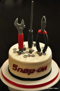 Snap on tool cake, Happy b-day! ehehehe: Michelle Sison Cakes Snap on tool cake, Happy b-day! ehehehe