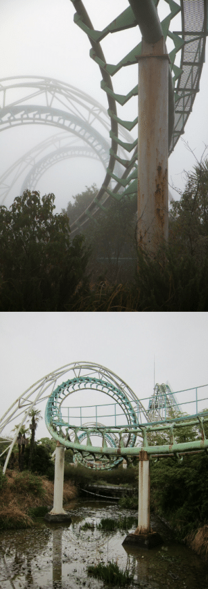 Google, Tumblr, and Wikipedia: microbe: Nara Dreamland, the infamous abandoned theme park in Japan.