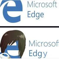 Memes, 🤖, and Edge: Microsoft  Edge  Microsof  Edgy Happy Wednesday guys ☀️ The edgy guy looks like @mrjeverson in High School 🤙🏼 - New follower? Welcome to my page 😈 Follow my backup @memy.memes 💙 - GamingPosts Laugh CallOfDuty Lol Cod Selfie Gaming PC Xbox Funny Playstation Like XboxOne CSGO Gamer Battlefield1 Bottleflip Meme GTA PhotoOfTheDay Crazy Insane InfiniteWarfare Minecraft Kardashian YouTube Relatable Like4Like Like4Follow Overwatch