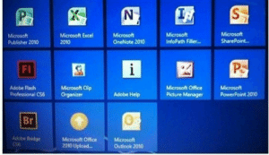 This is why Microsoft Excel logo says X.: Microsoft  Publisher 2010  Microsoft Excel  2010  Microsoft  OneNote 2010  Microsoft  InfoPath Filler.  Microsoft  SharePoint..  FI  Adobe Flash  Professional CS6  Microsoft ClEp  Organizer  Microsoft Office  Picture Manager  Microsoft  PowerPoint 2010  Adobe Help  Br  0  Adobe Bridge  Microsoft Office  2010 Upload...  Microsoft  Outlook 2010 This is why Microsoft Excel logo says X.