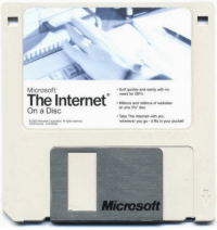 Internet, Microsoft, and Dank Memes: Microsoft  Surf quickly and easily with no  need for ISPs  The Internet  Millions and millions of websites  on one 3h' disc  On a Disc  Take The Internet with you  wherever you go -it fits in your pockets  Microsoft
