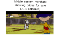 """Dank, Meme, and Http: Middle eastern merchant  showing brides for sale  (2018 colorized) <p>Dont know bout yall, but im saving up via /r/dank_meme <a href=""""http://ift.tt/2ETlifX"""">http://ift.tt/2ETlifX</a></p>"""