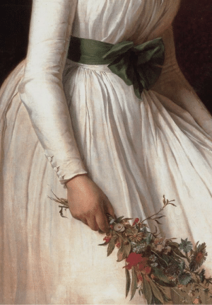 midnight-summerx:Madame Seriziat by Jacques-Louis David, 1795 (detail): midnight-summerx:Madame Seriziat by Jacques-Louis David, 1795 (detail)