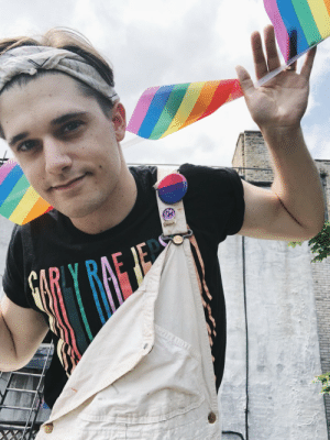 Bodies , Community, and Instagram: mientus-andrew: andymientus: Happy Pride to my queer people. ALL my queer people. All the bodies, all the ways. This community is a blessing and a birthright and today I celebrate in honor of all my queer ancestors who paved the way so I can be exactly who the fuck I am, proudly.
