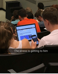 Memes, Jobs, and 🤖: Migh-Paying Jobs for Colege  The stress is getting to him Go for it boi| Follow @aranjevi for more!