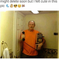 me irl: might delete soon but I felt cute in this me irl