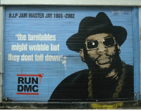 Today we remember the life of Hip Hop Legend JamMasterJay on his 53rd birthday. Our thoughts and prayers continue to go out to his family and friends. 🎂🙏 RIPJMJ WSHH: might wobble but  RUN  DMC Today we remember the life of Hip Hop Legend JamMasterJay on his 53rd birthday. Our thoughts and prayers continue to go out to his family and friends. 🎂🙏 RIPJMJ WSHH