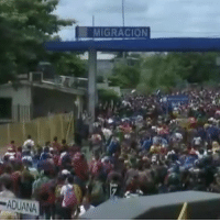 My American patriots this invasion of migrants has been planned for a while by a group hermanos sin fronteras funded by George Soros and the Democrat party in California. This is a distraction to attack Donald Trump Success and powerful economy by deflecting the governments failure to secure our borders and portraying him as an evil dictator for protecting us and not letting these criminals come through. What begin with 1000 now could be as big as 42000 and the closer they get to our border the bigger their caravan gets. The Mexicans did not secure their border, they send a dozen cops and all they are doing is sending them in sections. The invasion is filled with MS13, Terrorists, Military from south American government who are providing the left media real time correspondence. The leaders of this invasion is paying each individual as they move closer and also providing them with water, medical aid etc. The democrats are using this like before to attack Donald Trump on his immigration policies and to distract the election fraud from the democrats using non citizens to vote during our elections. We must send the Militia to the border if we cannot get our troops. Every American Citizens should be up in Arms. I call on the arrest of the leaders of Hermanos Sin Fronteras and freeze all of their assets until an investigation on this treasonable act has been made.-: MIGRACION  ADUANA My American patriots this invasion of migrants has been planned for a while by a group hermanos sin fronteras funded by George Soros and the Democrat party in California. This is a distraction to attack Donald Trump Success and powerful economy by deflecting the governments failure to secure our borders and portraying him as an evil dictator for protecting us and not letting these criminals come through. What begin with 1000 now could be as big as 42000 and the closer they get to our border the bigger their caravan gets. The Mexicans did not secure their border, they send a dozen cops and all they are doing is sending them in sections. The invasion is filled with MS13, Terrorists, Military from south American government who are providing the left media real time correspondence. The leaders of this invasion is paying each individual as they move closer and also providing them with water, medical aid etc. The democrats are using this like before to attack Donald Trump on his immigration policies and to distract the election fraud from the democrats using non citizens to vote during our elections. We must send the Militia to the border if we cannot get our troops. Every American Citizens should be up in Arms. I call on the arrest of the leaders of Hermanos Sin Fronteras and freeze all of their assets until an investigation on this treasonable act has been made.-