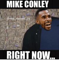 Mike Conley just signed the most expensive deal in NBA history! Follow @nba_report_24 to check out all the deals! nbamemes nba_memes_24: MIKE CONLEY  @nba memes 24 Mike Conley just signed the most expensive deal in NBA history! Follow @nba_report_24 to check out all the deals! nbamemes nba_memes_24